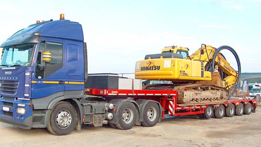 Heavy Machinery Shifting Services